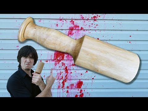World's Smallest Homemade Wooden Club put to the test against Ivan!