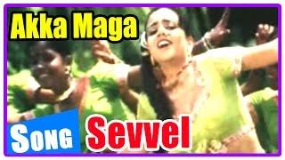 sevvel tamil movie   songs   akka maga song   jai akash and friends take notes from radha ravi
