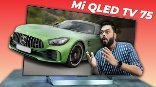 Mi QLED TV 75 Unboxing And Fir…