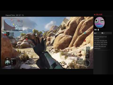 Tylers Live PS4 Broadcast