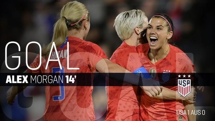 aed0ac16cc0 WNT vs. Australia  Alex Morgan Goal - April 4