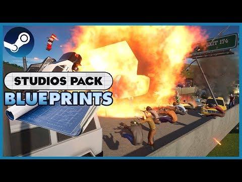 Blueprint Spotlight 18: STUDIOS Pack DLC! #PlanetCoaster