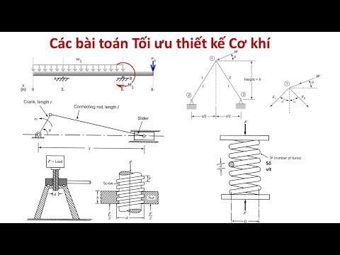 [TỐI ƯU HÓA TRONG THIẾT KẾ CƠ KHÍ]Bài 17: Các bài toán Tối ưu thiết kế Cơ khí (Tiếp)