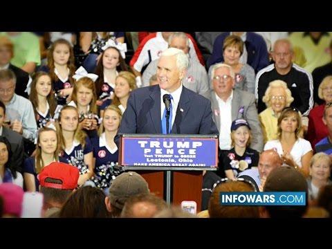 Pence's Epic Speech in Ohio