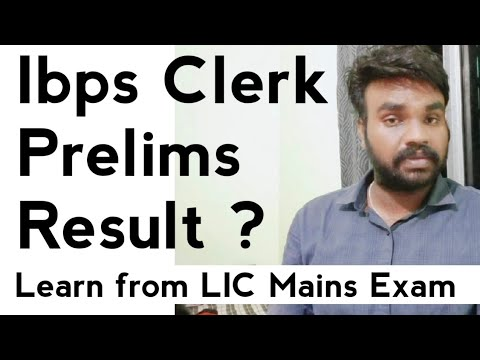 ibps clerk 2014 result expected date