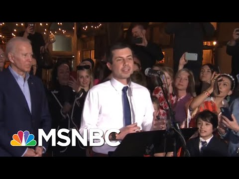 Pete Buttigieg Endorses Joe Biden At Texas Campaign Rally | Hardball | MSNBC
