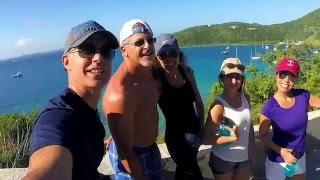 Virgin Islands Sailing, Scuba and a Shark - GoPro