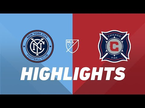 NYCFC vs. Chicago Fire | HIGHLIGHTS - April 24, 2019