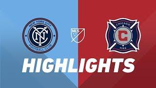 New York City FC vs Chicago Fire   HIGHLIGHTS - April 24, 2019