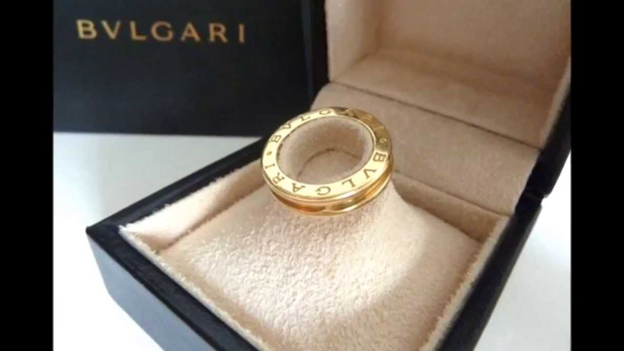 BVLGARI B Zero 1 Band Ring in 18ct Yellow Gold YouTube