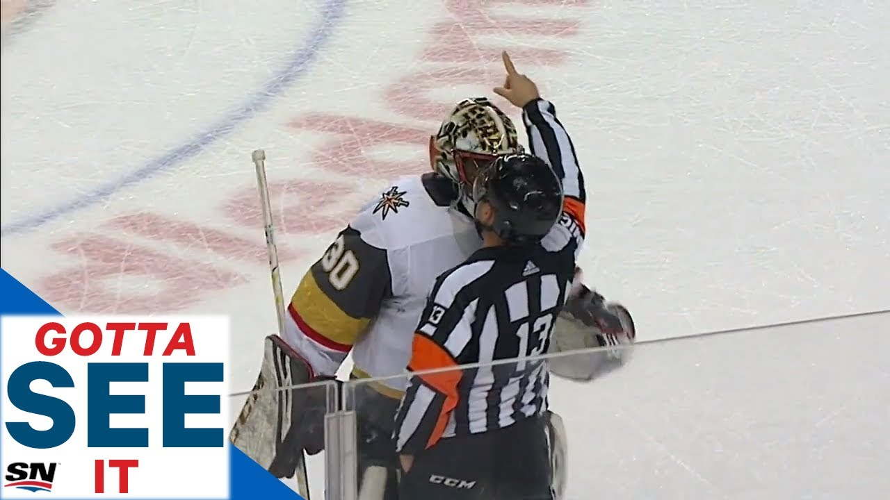 Malcolm Subban Penalized After Getting In Ref S Face Arguing Call