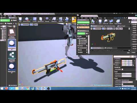 TPS Build Part 8   Creating Child Actor Class for Primary Weapon