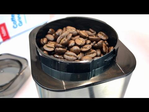 Hölm Stainless Steel Electric Coffee Bean Grinder Review