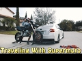 SUPERMOTO ON THE BACK OF SUBIE!!