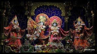 Sandhya Arati Darshan Sri Sri Radha Rasbihari Temple 23rd July 2018 Live from ISKCON Juhu, Mumbai