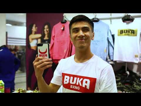 Открытие официального магазина Buka Boxing в Санкт-Петербурге