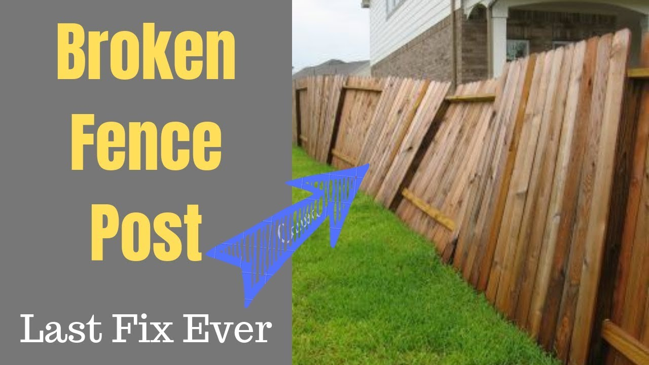 The Forever Fence Post Fix