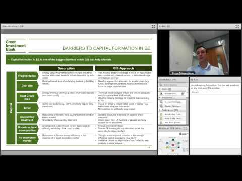 Webinar - The Green Investment Bank [MI 03]
