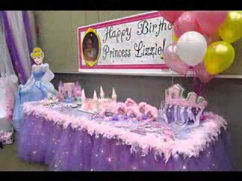 Princess Birthday Party Ideas Youtube