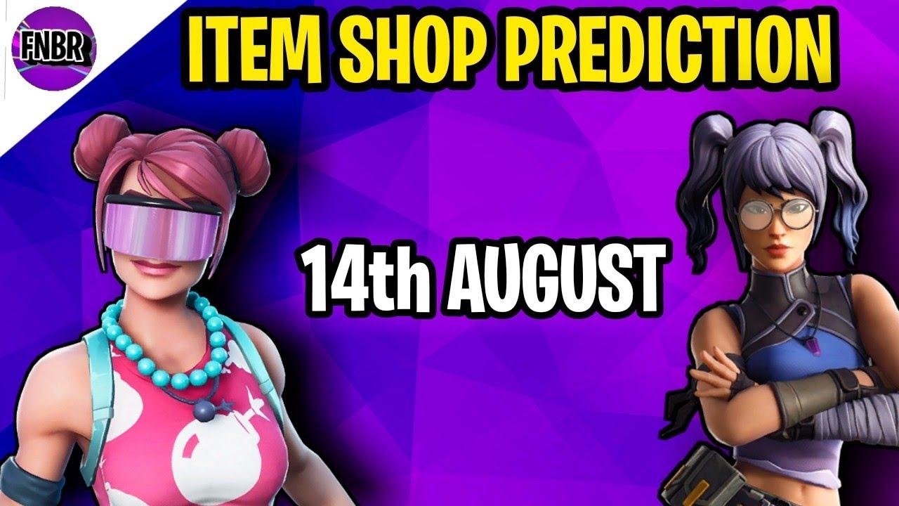 Fortnite Item Shop Prediction - August 14th 2020