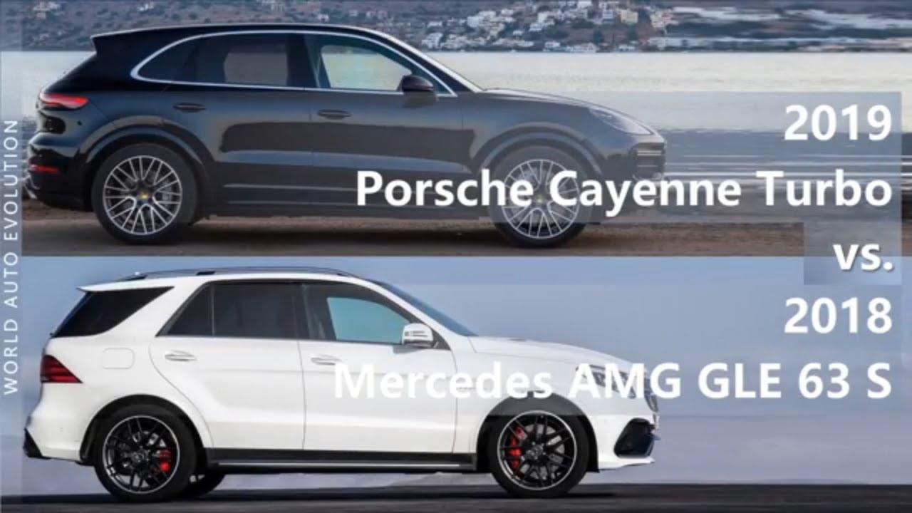 2019 Porsche Cayenne Turbo vs 2018 Mercedes AMG GLE 63 S (technical  comparison)