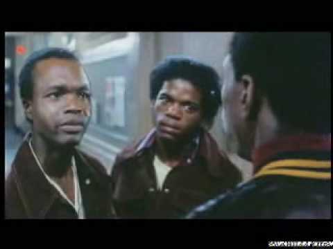 """Sonny Carson's gang confronts the """"Hawks"""""""