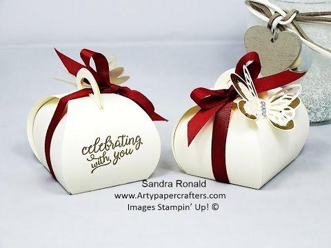 Elegant WEDDING FAVOUR BOX - SandraR Stampin' Up! Demonstrator Independent