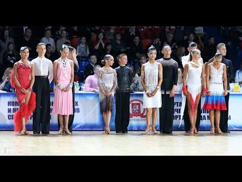 Finalist World Championship Junior II Latin 2014