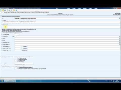 Правильное заполнение заявления на гос. регистрацию ООО