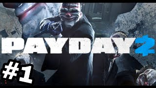PAYDAY 2 Part 1: Jewelry Store (Solo Stealth)