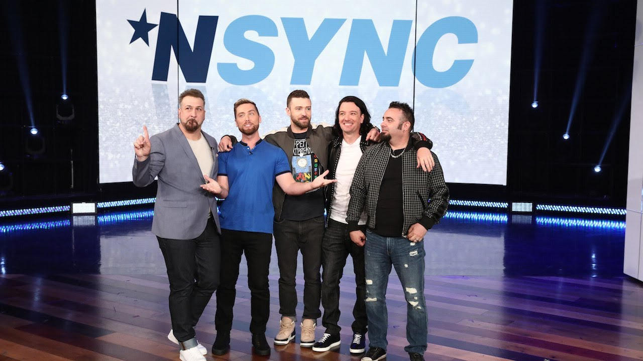 Download *NSYNC Makes a Surprise Appearance