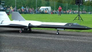 ULTRA-SECRET: LAST A-12 OXCART IN THE WORLD THAT FLY RC TURBINE MODEL JET