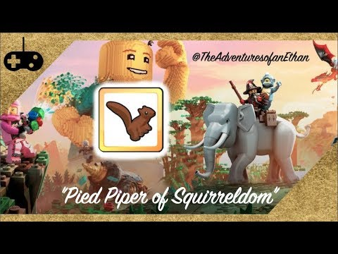 "LEGO® Worlds - ""Pied Piper of Squirreldom"" Trophy/Achievement Guide"