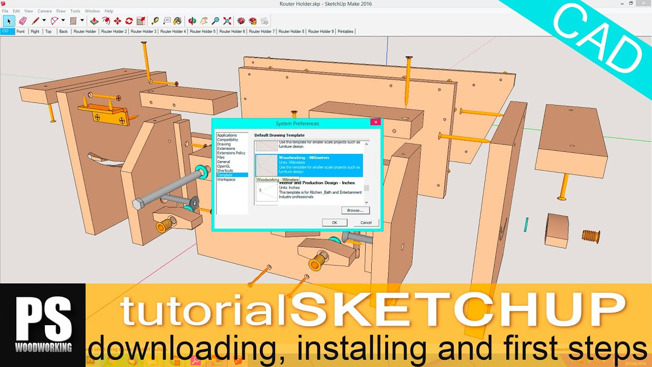 Sketchup Tutorial Youtube