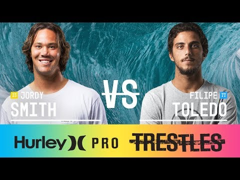 Jordy Smith vs. Filipe Toledo - FINAL - Hurley Pro at Trestles 2017