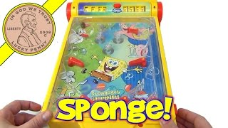 SpongeBob SquarePants Nickelodeon Tabletop Mini Pinball Machine Game