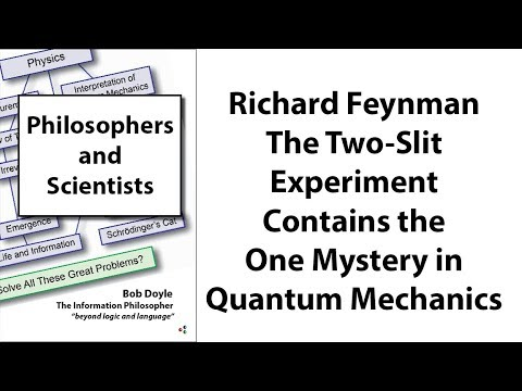 Richard Feynman: The Two-Slit Experiment Contains the One