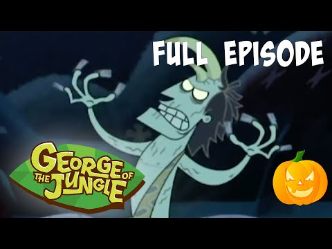 🎃 Zombie Mania! 🎃   George of the Jungle   Full Episode   Cartoons For Kids