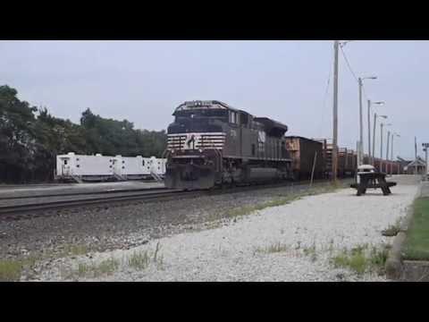 Norfolk southern rail train at Alliance Ohio