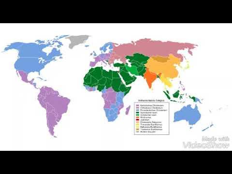Weltreligionen Karte Youtube