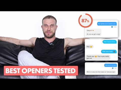 Best Tinder Openers in 2020 (Conversation Starter Experiment) from YouTube · Duration:  7 minutes 28 seconds