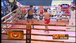 Khmer Boxing, Sek Rathana Vs Thai, Seatv Boxing, 13 September 2015