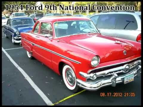 1954 Ford Club of America August 16th to 19th 2012
