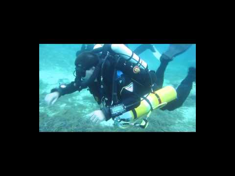 Megalodon Rebreather Try Dive in Cyprus