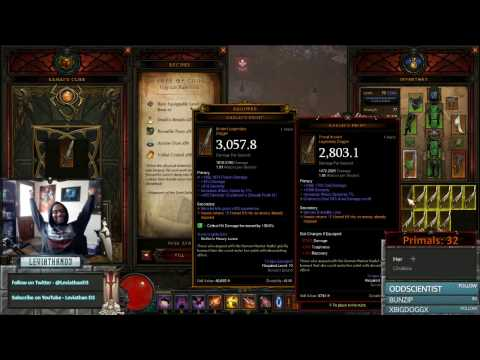 [Diablo 3] Leviathan Strikes Again - Primal Ancient Karlei's Point Edition   Season 10