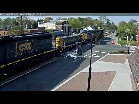 CSX yard slug in Ashland VA!