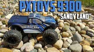 """PXTOYS 9300 """"Sandy Land"""" RTR 1:18 4WD R/C Truck Review"""