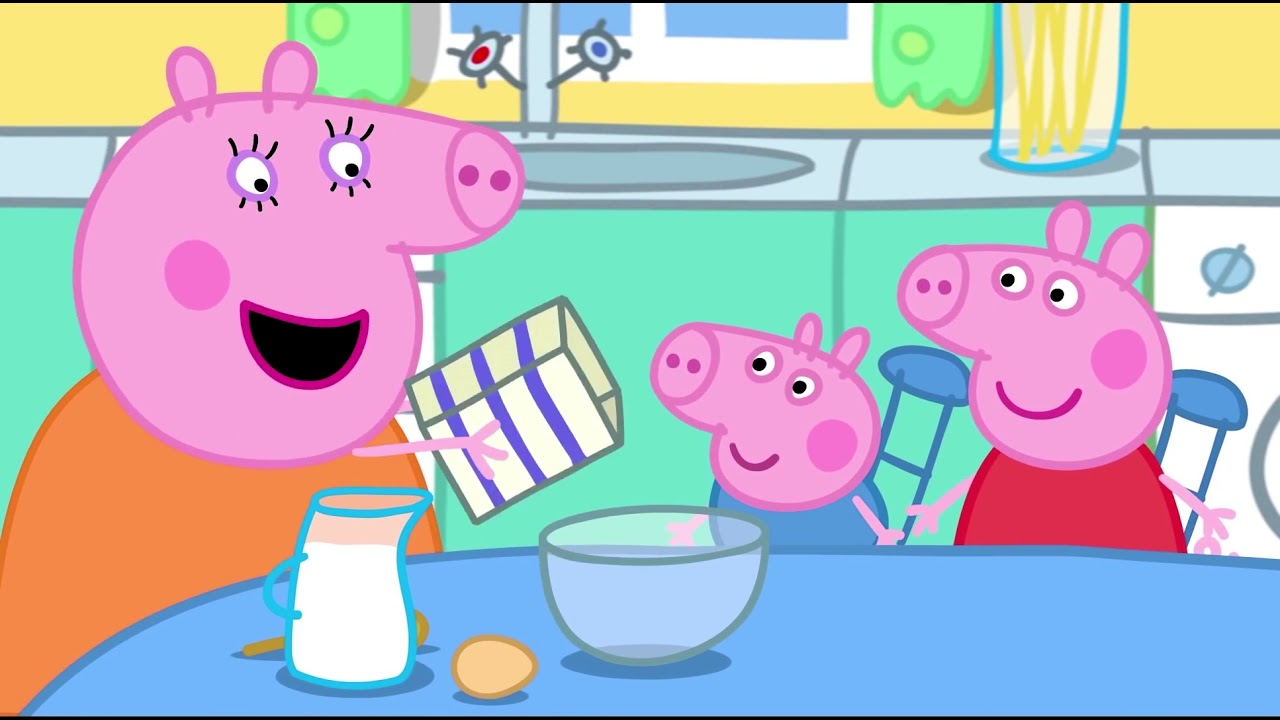 Peppa Pig Episodes  28-30 . Funny Cartoon for kids