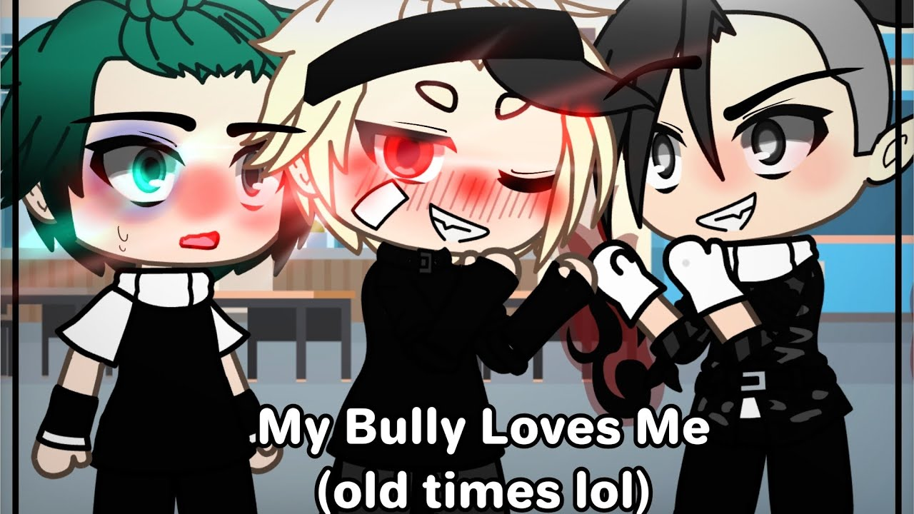"My ""bully"" loves me..?   bkdk goth/emo AU💀⛓🥀   •butterfly•  "