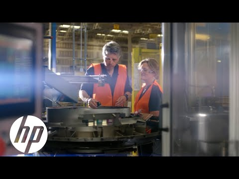 HP Ink Cartridge Recycling/Manufacturing | Reinventing Impact | HP